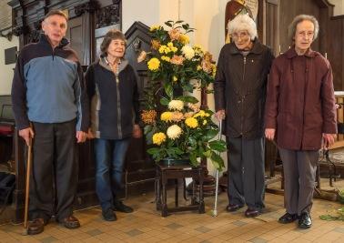 Church decorations team