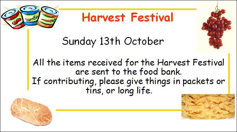 Harvest Festival 2019